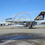 F-18C-USN-VFA-97 0001  A static McDonnell Douglas F-18C Hornet USN jet fighter 163444 VFA-97 WARHAWKS commanding officer's airplane NAS Lemoore 10-2005 military airplane picture by Michael G ...