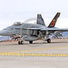 COP-F-18USN 00011 A taxing colorful McDonnell Douglas F-18C Hornet USN jet fighter 164257 VFA-113 STINGERS commanding officer's airplane with missiles taxis for take-off at NAS Fallon 11-2013 military airplane picture by Peter J Mancus