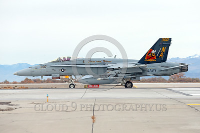 COP-F-18USN 00003 A taxing colorful McDonnell Douglas F-18C Hornet USN jet fighter 164257 VFA-113 STINGERS commanding officer's airplane USS Carl Vinson on NAS Fallon's runway for take-off 11-2013 military airplane picture by Peter J Mancus