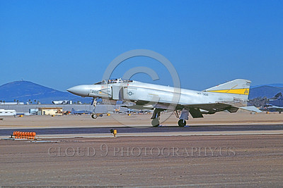 F-4USN-VF-302 0001 A landing McDonnell Douglas F-4S Phantom II US Navy 153832 VF-302 STALLIONS commanding officer's plane NAS Miramar 2-1982 military airplane picture by Michael Grove, Sr      DONEwt copy
