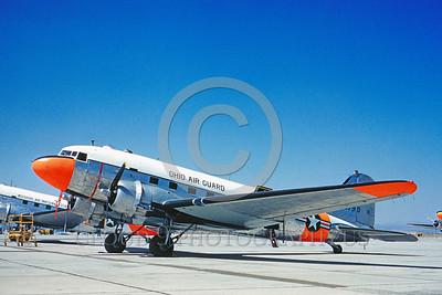 DG 00003 Douglas C-47 Skytrain Ohio ANG 1960 by Clay Jansson