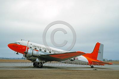 DG 00016 Douglas C-117 Skytrain USMC 12422 MCAS El Toro October 1961 by Clay Jansson