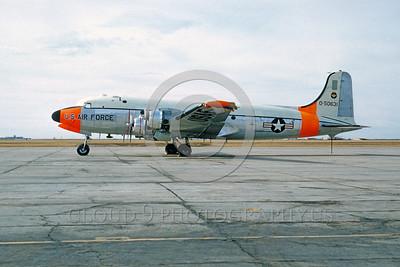 DG 00004 Douglas C-54 Skymaster USAF 50631 1961 by Paul Burdack_