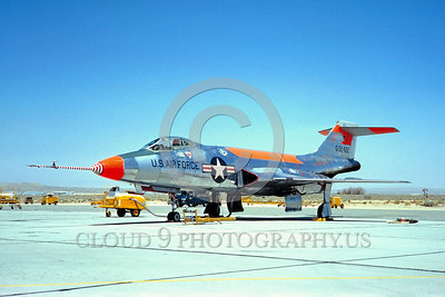 DG 00008 McDonnell F-101 Voodoo USAF 32422 May 1964 by Clay Jansson