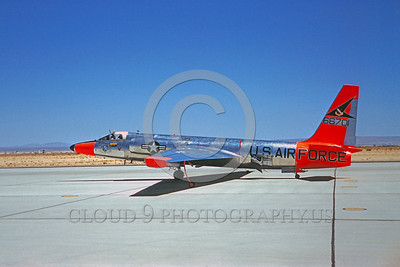 DG 00011 Lockheed U-2Dragon Lady USAF 66701 Edwards AFB May 1961 by Clay Jansson