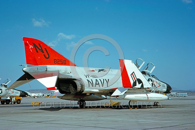 DG 00017 McDonnell F-4H-1F Phantom II US Navy 148258 January 1963 by Clay Jansson