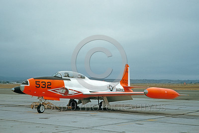 DG 00023 Lockheed T-33 Shooting Star USMC 1532 October 1961 by Clay Jansson