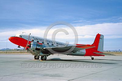 DG 00002 Douglas C-117 Skytrain USMC MCAS Yuma 1965 by Clay Jansson_