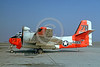 DG-S-2USN 0003 A static day-glow Grumman S-2 Tracker US Navy 133354 ASW military airplane picture by Clay Jansson