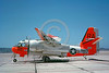 DG-S-2USN 0005 A static day-glow Grumman S-2D Tracker US Navy 147889 VS-41 SHAMROCKS 5-1963 military airplane picture by Clay Jansson