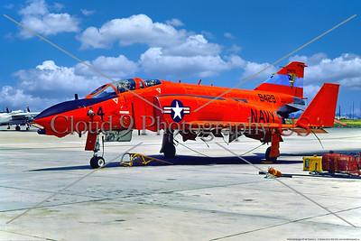 QF-4B-USN 001 A static orange McDonnell Douglas QF-4B Phantom II USN target drone, 9428, PMTC, 8-1975, NAS Pt  Mugu, military airplane picture by Stephen W  D  Wolf         BBB_8932    Dt