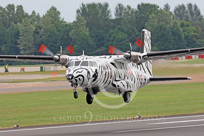 Aerospatiale Nord 262 00002 French Navy Artic Tiger color scheme by Peter J Mancus