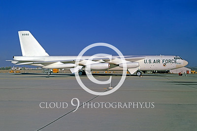 EE-B-52 00001 Boeing B-52 Stratofortress US Air Force Oct 1974 by Peter J Mancus