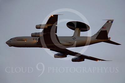 E-3USAF 00010 Boeing E-3 Sentry by Peter J Mancus