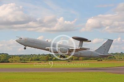 E-3FORG 00006 Boeing E-3 Sentry British RAF ZHI05 by Peter J Mancus