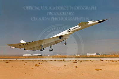 XB-70 00006 North American XB-70 Valkyrie USAF 20001 Official USAF Photograph produced by Peter J Mancus