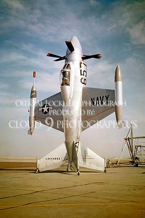 X-XFV-1 00001 Lockheed XFV-1 Pogo experimental VSTOL fighter via Lockheed Corporation