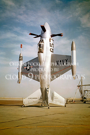 X-XFV-1 00001 Lockheed XFV-1 Pogo experimental VSTOL fighter via Lockheed Corporation