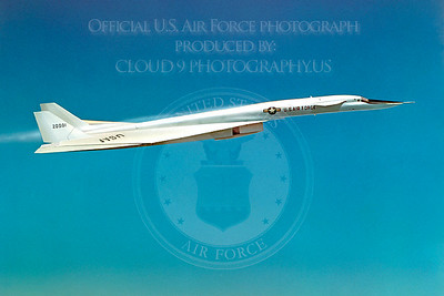 XB-70 00008 North American XB-70 Valkyrie USAF 20001 Official USAF Photograph produced by Peter J Mancus