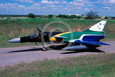 EE-Cheetah 00003 A static colorful Denal Cheetah South African Air Force jet fighter military airplane picture via African Aviation Slide Service