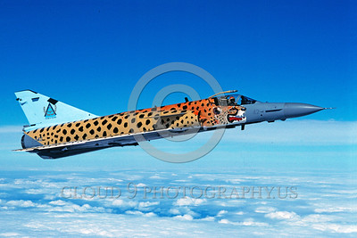 EE-Cheetah 00005 A flying colorful Denal Atlas Cheetah South African Air Force jet fighter via African Aviation Slide Service