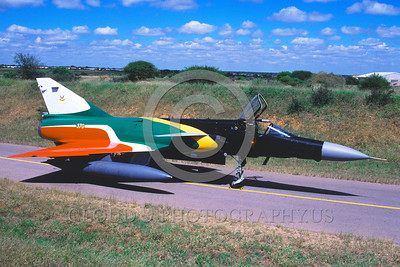 EE-Cheetah 00002 A static colorful Denal Cheetah South African Air Force jet fighter military airplane picture via African Aviation Slide Service