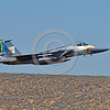 EE-F-15ANG 0036 A colorful McDonnell Douglas F-15 Eagle Oregon ANG jet fighter 79041 in rare special eagle markings makes a low fly-by at Kingsley Field during a Sentry Eagle exercise 7-2017 military airplane picture by Peter J  Mancus     DONEwt