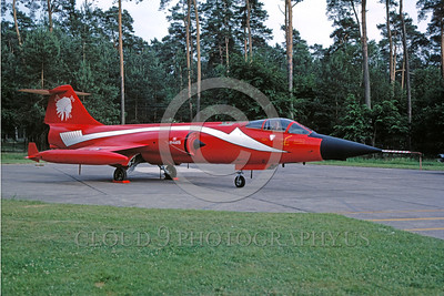 EE-F-104Forg 00008 A static colorful Lockheed CF-104 Starfighter Canadian Armed Forces jet fighter military airplane picture by Wilfreid Zetsche
