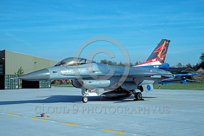 EE-F-16Forg 00024 A static colorful Lockheed Martin F-16 Flying Falcon Dutch Air Force jet fighter military airplane picture by Wilfreid Zetsche