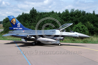 EE-F-16Forg 00013 A static colorful Lockheed Martin F-16 Fighting Falcon Dutch Air Force DUTCH LIONS jet fighter military airplane picture by Marinus Tabak
