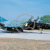 EE-F-4Forg 00019 A static colorful McDonnell Douglas F-4 Phantom II Hellenic Air Force jet fighter 9-2005 military airplane picture via African Aviation Slide Service