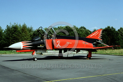 EE-F-4Forg 00006 A static colorful McDonnell Douglas F-4 Phantom II German Air Force jet fighter military airplane picture by Marinus Tabak