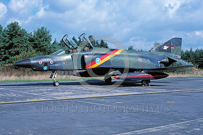 EE-F-4Forg 00014 A static colorful McDonnell Douglas RF-4 Phantom II German Air Force recce jet military airplane picture by Wilfreid Zetsche