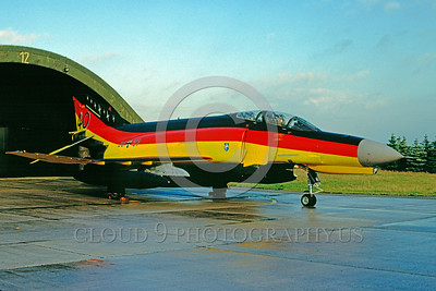 EE-F-4Forg 00011 A static colorful McDonnell Douglas F-4 Phantom II German Air Force 11-2001 military airplane picture by Wilfreid Zetsche
