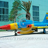 EE-F-5Forg 00009 A static colorful Northrop F-5E Freedom Fighter Hellenic Air Force jet fighter 2-2004 military airplane picture via African Aviation Slide Service