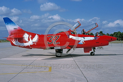 EE-G91 00002 A static colorful Fiat G91 Italian Air Force attadk jet 9-1995 military airplane picture by Wilfreid Zetsche