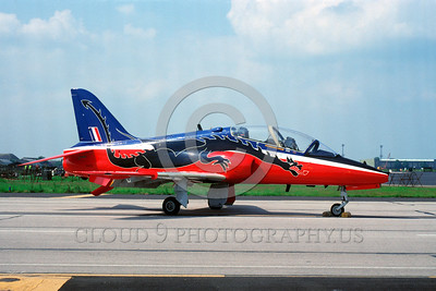 EE-Hawk 00001 A static colorful BAE Systems Hawk British RAF 6-1993 military airplane picture via African Aviation Slide Service