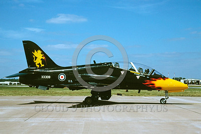 EE-Hawk 00002 A taxing black with flames BAC Hawk British RAF XX309 jet trainer 8-2003 military airplane picture via African Aviation Slide Service