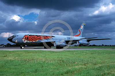 EE-KC-135ANG 00001 A static colorful Boeing KC-135E Stratotanker New Jersey ANG 8-1998 military airplane picture via African Aviation Slide Service