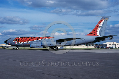 EE-KC-135ANG 00002 A static colorful Boeing KC-135E Stratotanker New JerseyANG 7-1997 military airplane picture via African Aviation Slide Service