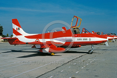 EE-Kiran 00001 A static colorful Hindustan Aeronautics Ltd HJT-16 Kiran Indian Air Force jet trainer 12-1996 military airplane picture via African Aviation Slide Service