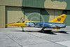 EE-Mirage F1 00003 A static colorful Dassault Mirage F1 Hellenic Air Force jet fighter 6-2004 military airplane picture via African Aviation Slide Service