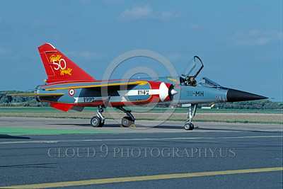 EE-Mirage F1 00001 A static colorful Dassault Mirage F1 French Air Force jet fighter 30-MH 9-1992 military airplane picture by Wilfried Zetsche
