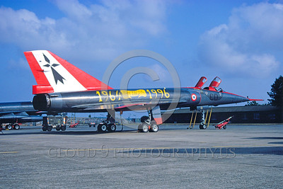 EE-Mirage IV 00001 A static colorful Dassault Mirage IV French Air Force strategic jet bomber 6-1996 military airplane picture by Michel Fournier