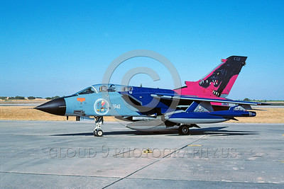 EE-Tornado 00016 A static Panavia Tornado Italian Air Force fighter-bomber 6-2002 military airplane picture via African Aviation Slide Service