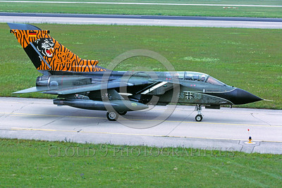 EE-Tornado 00007 A taxing colorful Panavia Torando German Air Force fighter-bomber military airplane picture by Wilfreid Zetsche