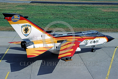 EE-Tornado 00005 A static colorful Panavia Tornado German Navy fighter-bomber 45+30  9-2003 military airplane picture by Marinus Tabak