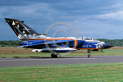 EE-Tornado 00018 A static colorful Panavia Tornado German Air Force 7-2002 military airplane picture by Wilfreid Zetsche