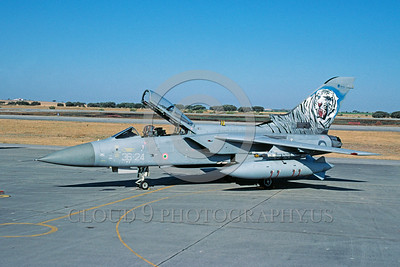EE-Tornado F3 00017 A static colorful Panavia Tornado Italian Air Force fighter-bomber 7-2002 military airplane picture via African Aviation Slide Service