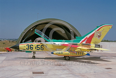 EE-Tornado 00012 A static colorful Panavia Tornado Italian Air Force fighter-bomber 6-2006 military airplane picture via African Aviation Slide Service